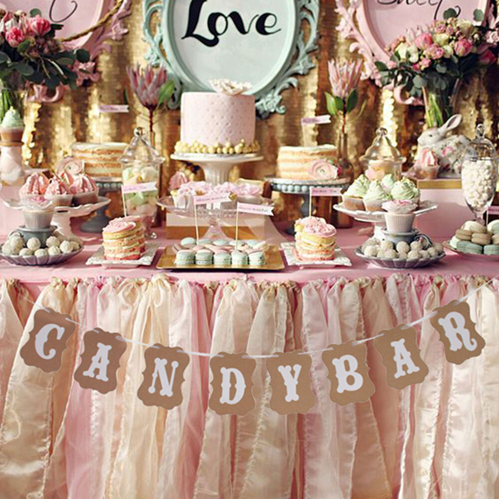 how to make wedding bunting banner