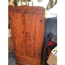 old antique armoire