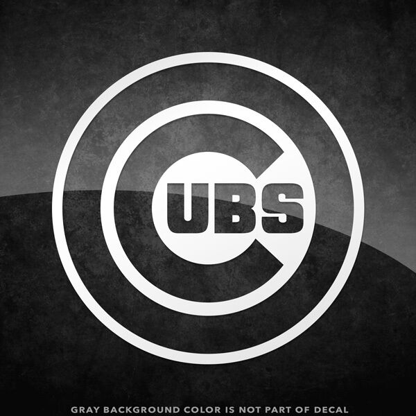Chicago Cubs Logo Vinyl Decal Sticker 4 Quot And Larger