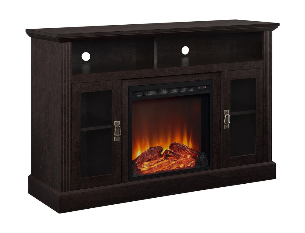 Altra Chicago 50 Quot Fireplace Tv Stand Console Espresso