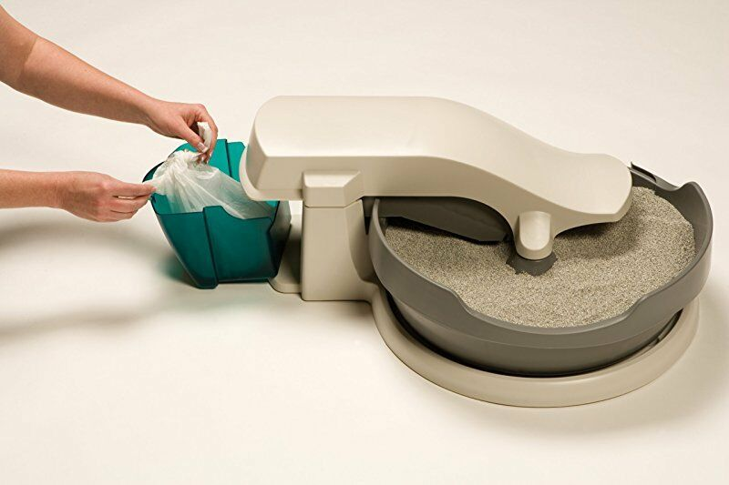 Self Cleaning Cat Box Automatic Litter Petsafe No Scoop