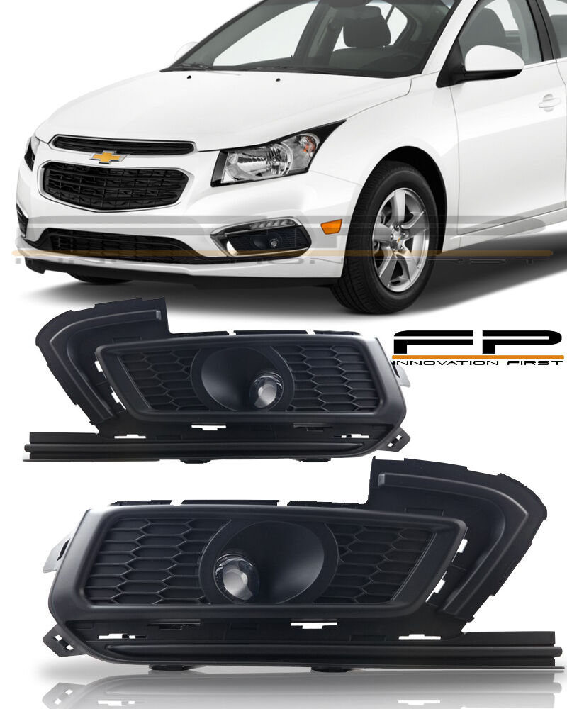 2015 2016 Chevy Cruze Fog Lights Clear Lamp Bulbs Wiring