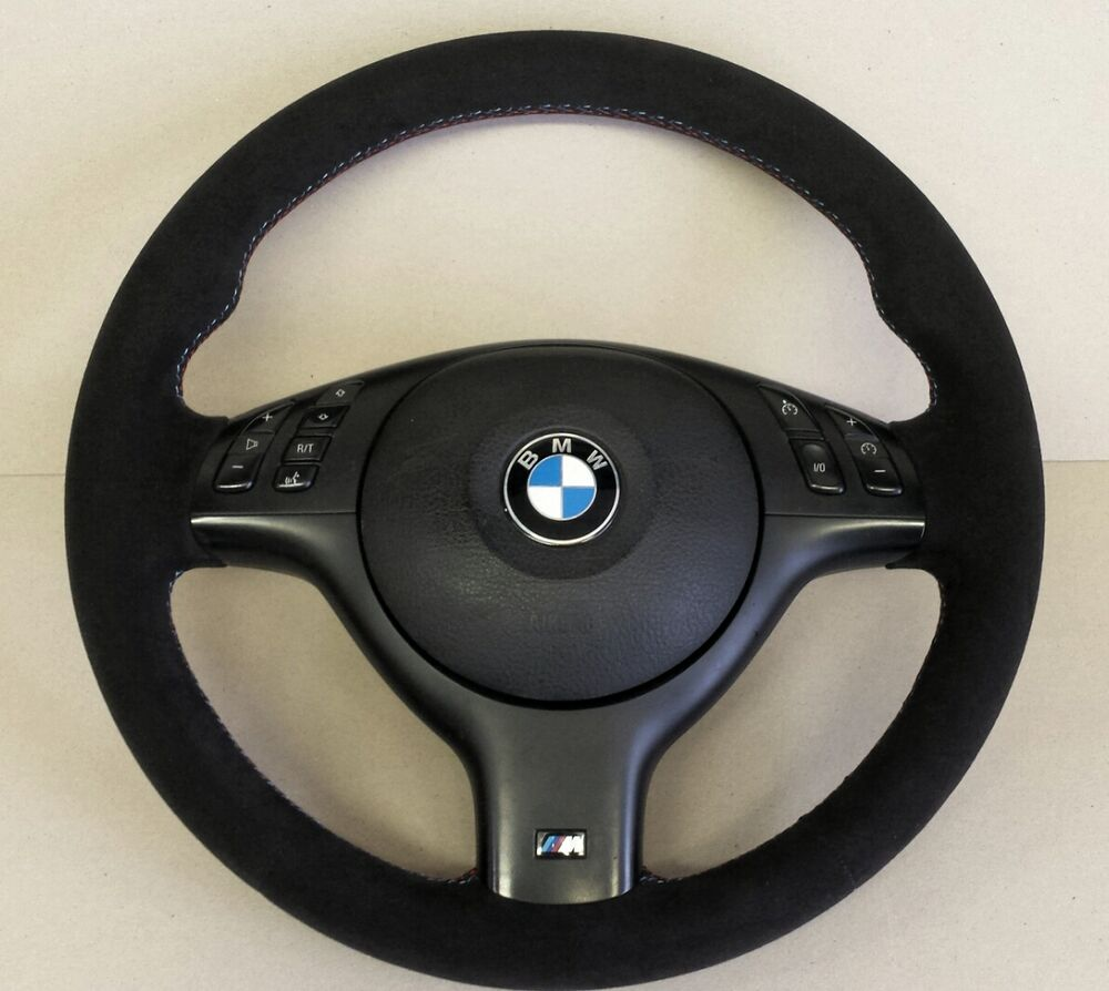 bmw e46 m sport m3 steering wheel genuine alcantara. Black Bedroom Furniture Sets. Home Design Ideas
