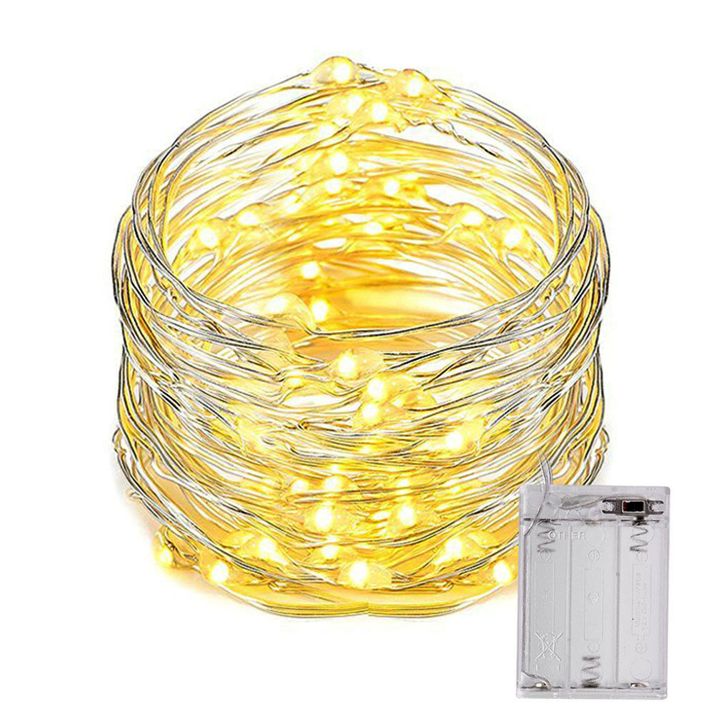 10m 100led lichterkette lichtschlauch warmwei innen au en for Lichterkette innen deko