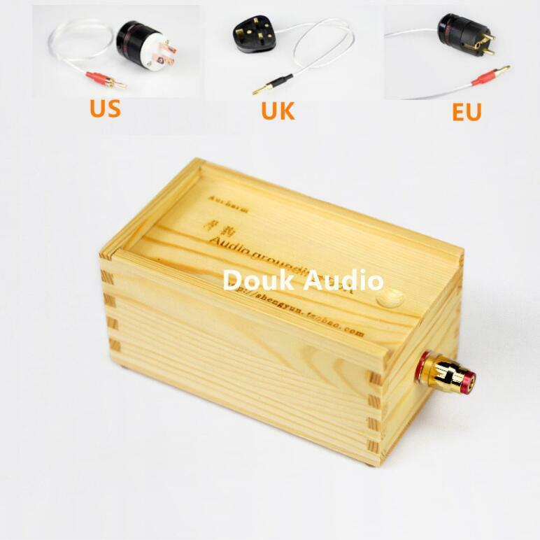 Audio Grounding Box With Us  Uk  Eu Power Plug Ground Wire