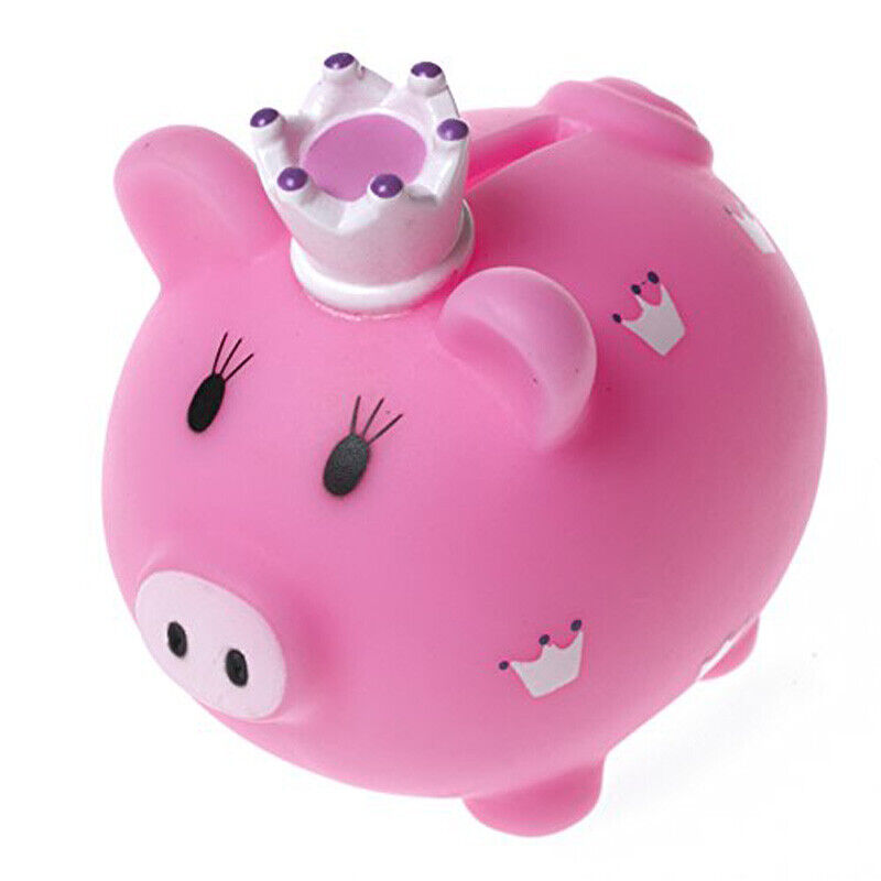 little princess piggy bank coin box piggy bank money. Black Bedroom Furniture Sets. Home Design Ideas