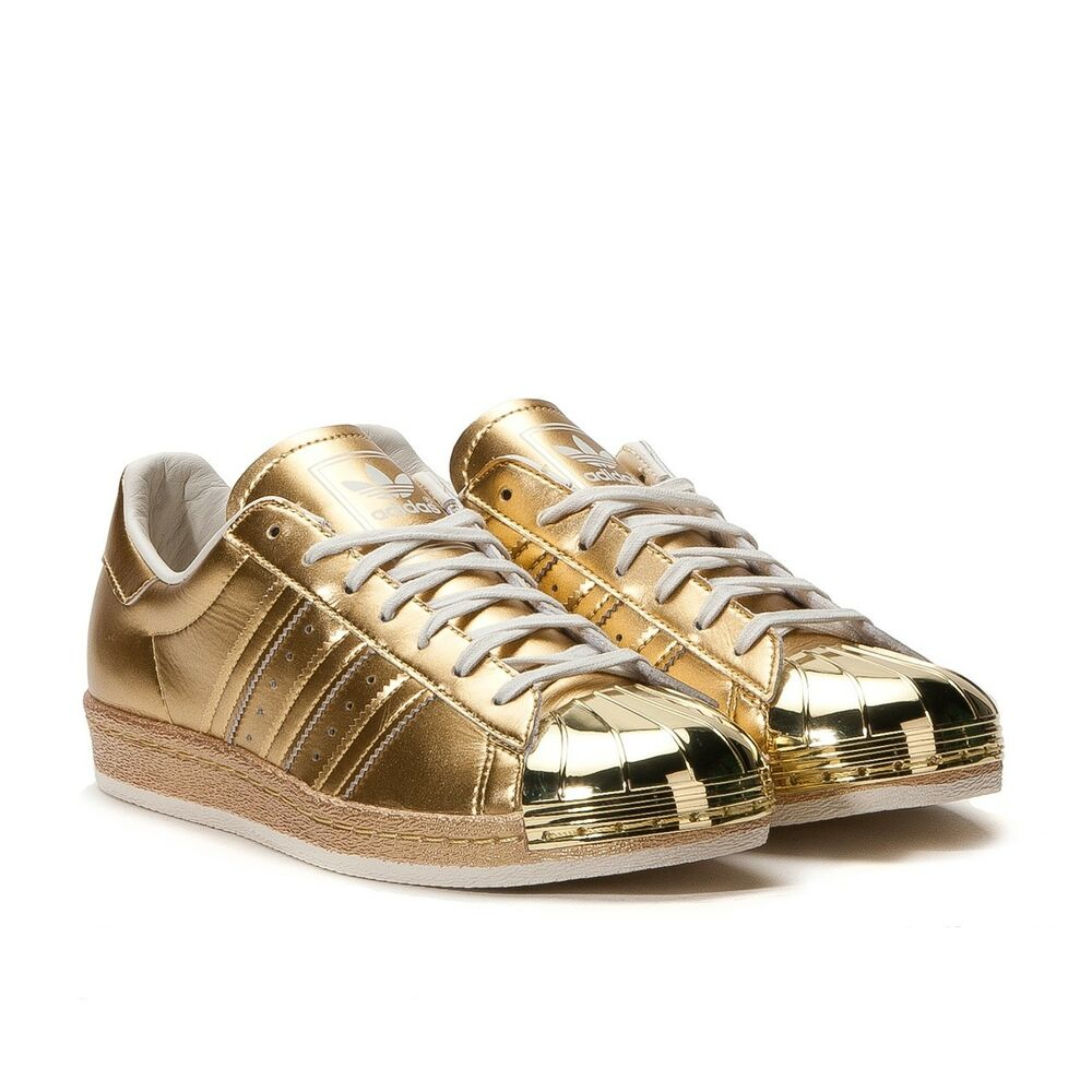 45353bb5c48b Details about ADIDAS SUPERSTAR GOLD 80 S METALLIC PACK S82742 LIMITED  EDITION SIZE UK 6