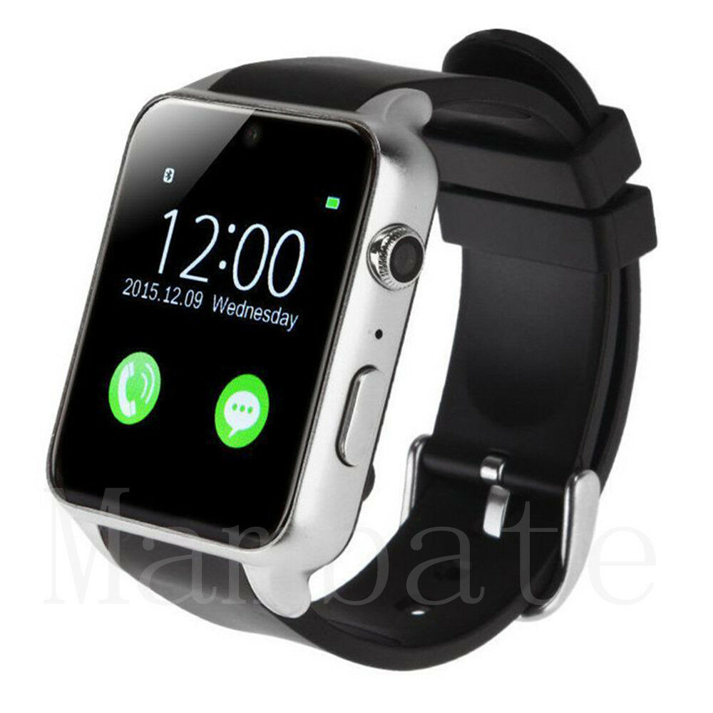 iphone wrist watch waterproof bluetooth smart phone mate for iphone ios 12507