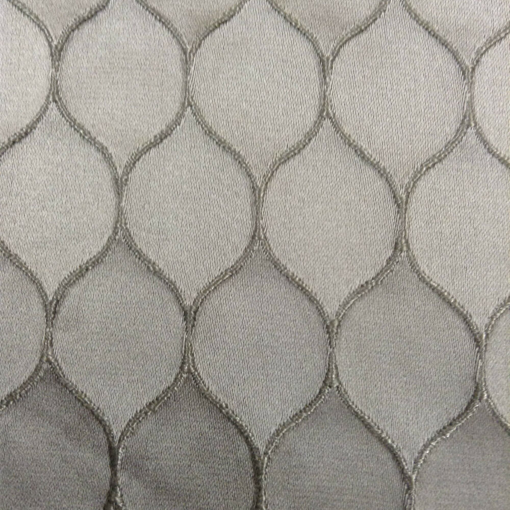 Satin Honeycomb Pelt Grey Textured faux Silk Curtain/Craft ...