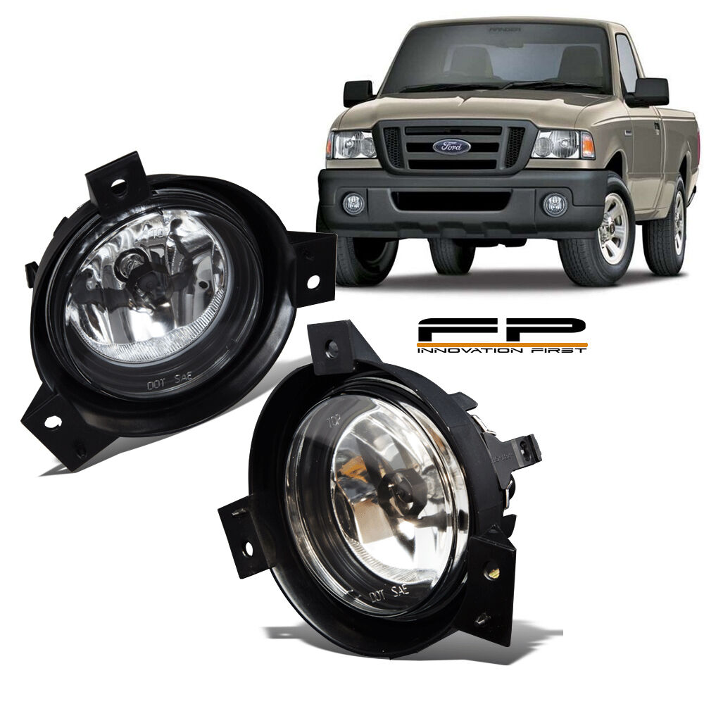 2001 2002 2003    Ford       Ranger    Replacement    Fog       Lights    Clear Lens Front Lamps PAIR   eBay