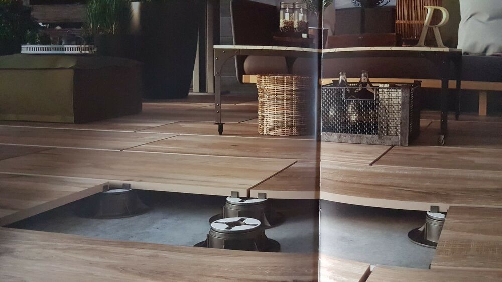 terrassenplatten holzoptik 2cm stark 45x90cm f r lose verlegung im au enbereich ebay. Black Bedroom Furniture Sets. Home Design Ideas