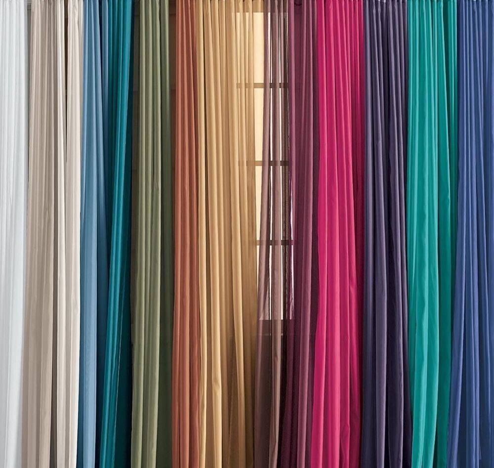Lovely Solid One Panel Sheer Curtain Window Drape 54 Quot X 84