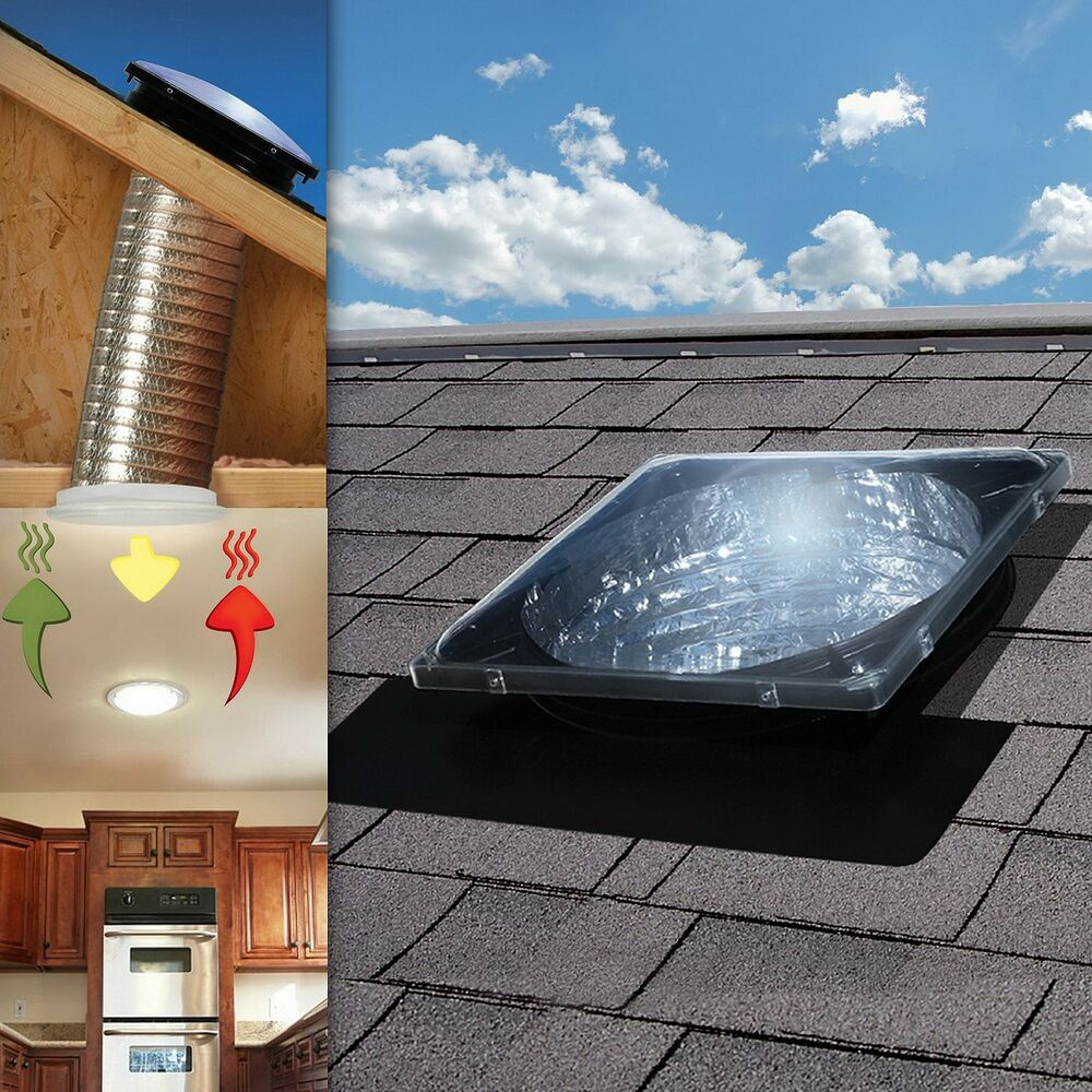 Spectrum Skylight Tube With Electric Light Kit And Passive