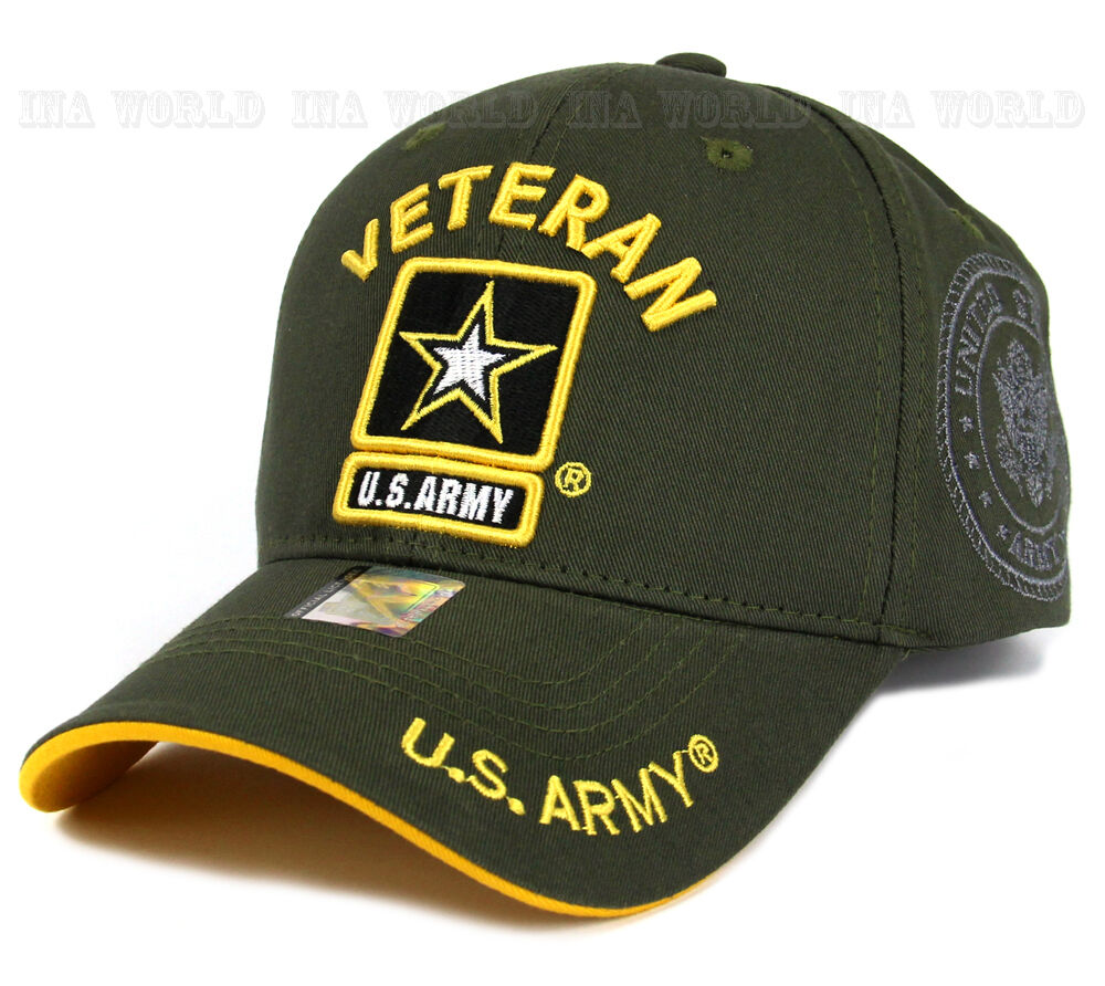 U S Army Hat Cap Military Veteran Army Strong Licensed