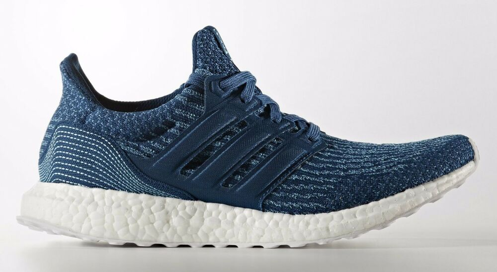 1ea3ac54aed9e Details about Adidas Ultra Boost 3.0 Parley M Blue Navy LTD Size 12.5.  BB4762 Yeezy NMD PK 13