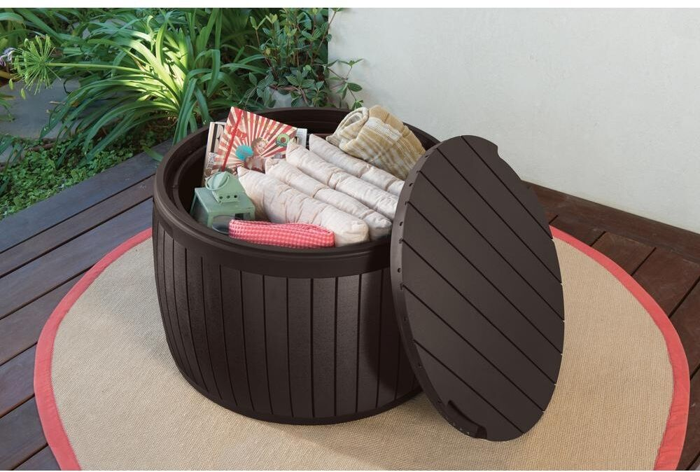 Outdoor Waterproof Storage Box Container Patio Pool