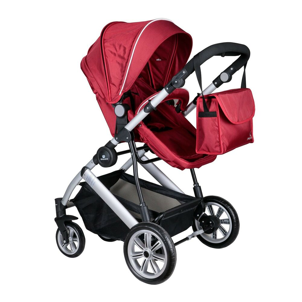 Easy Fold 2 In 1 Compact Imonsta Buggy Stroller Pushchair