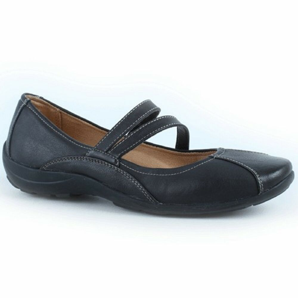 Naturalizer Shoes Black Suede