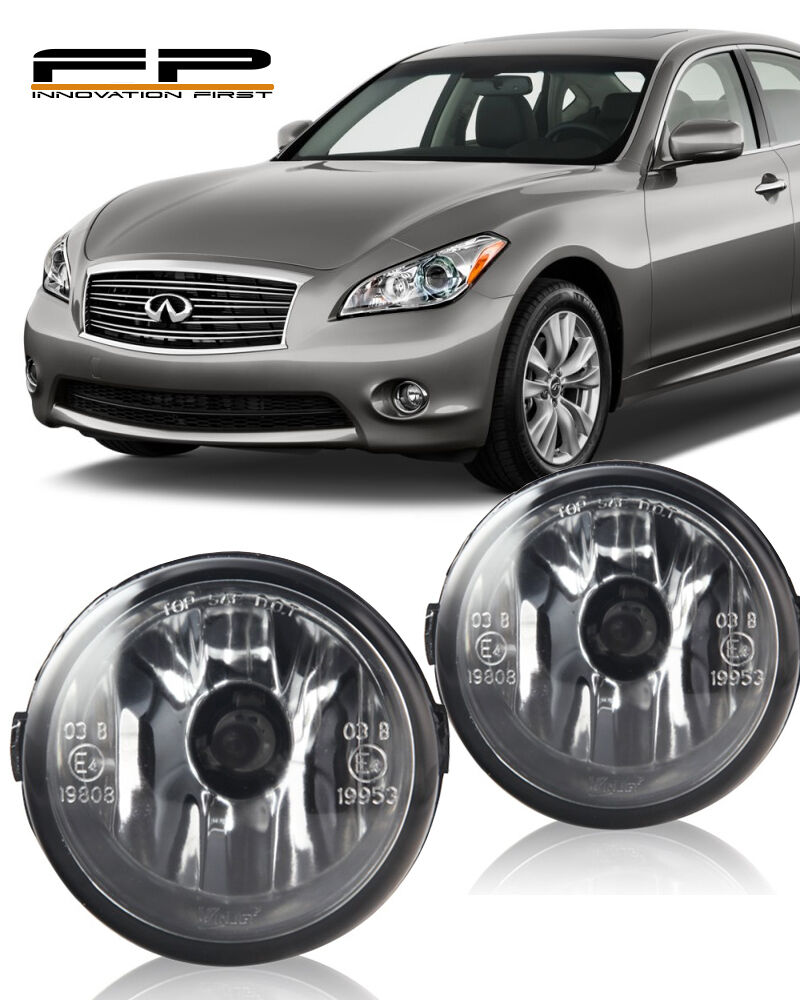 2013 Infiniti M Transmission: FOR 2011-2013 INFINITI M37 CLEAR LENS REPLACEMENT FOG