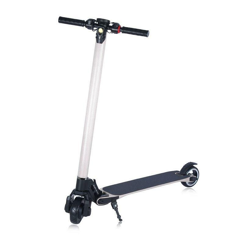new electric scooter for adults 2nd generation carbon. Black Bedroom Furniture Sets. Home Design Ideas