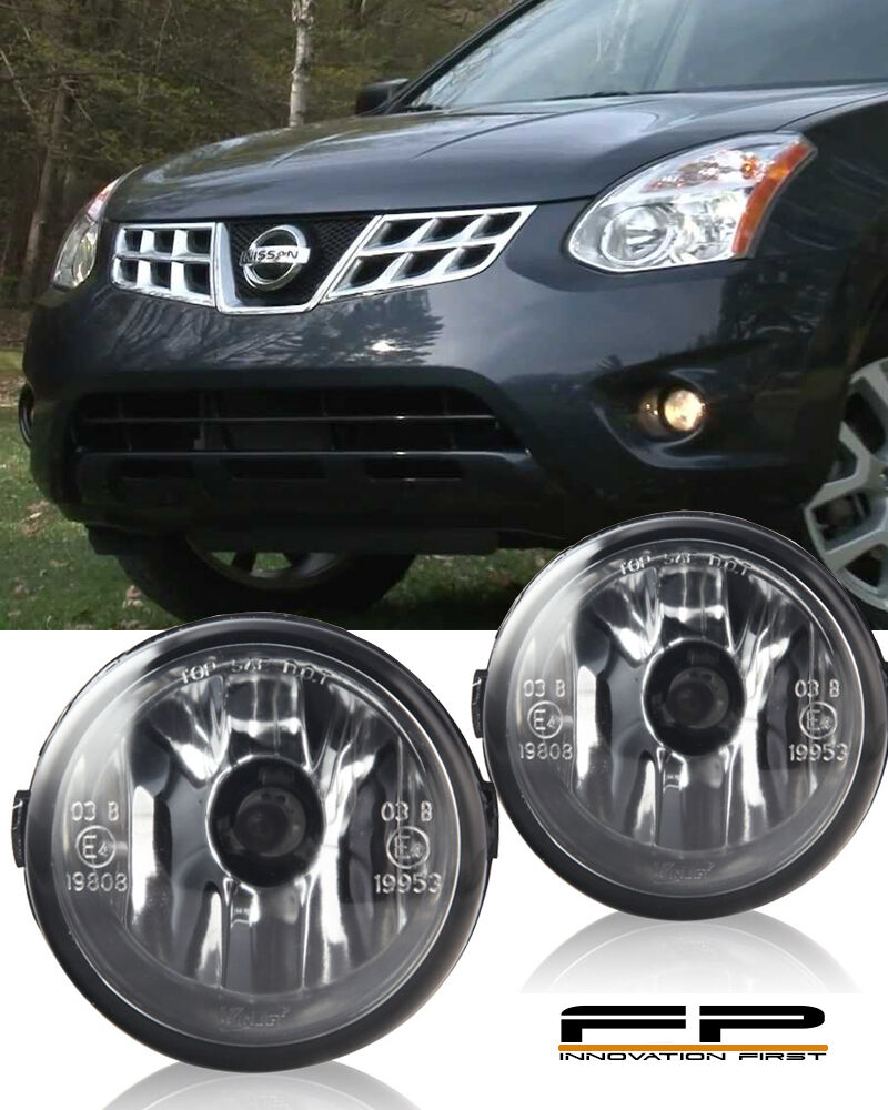 For 2011 2013 Nissan Rogue Clear Lens Replacement Fog