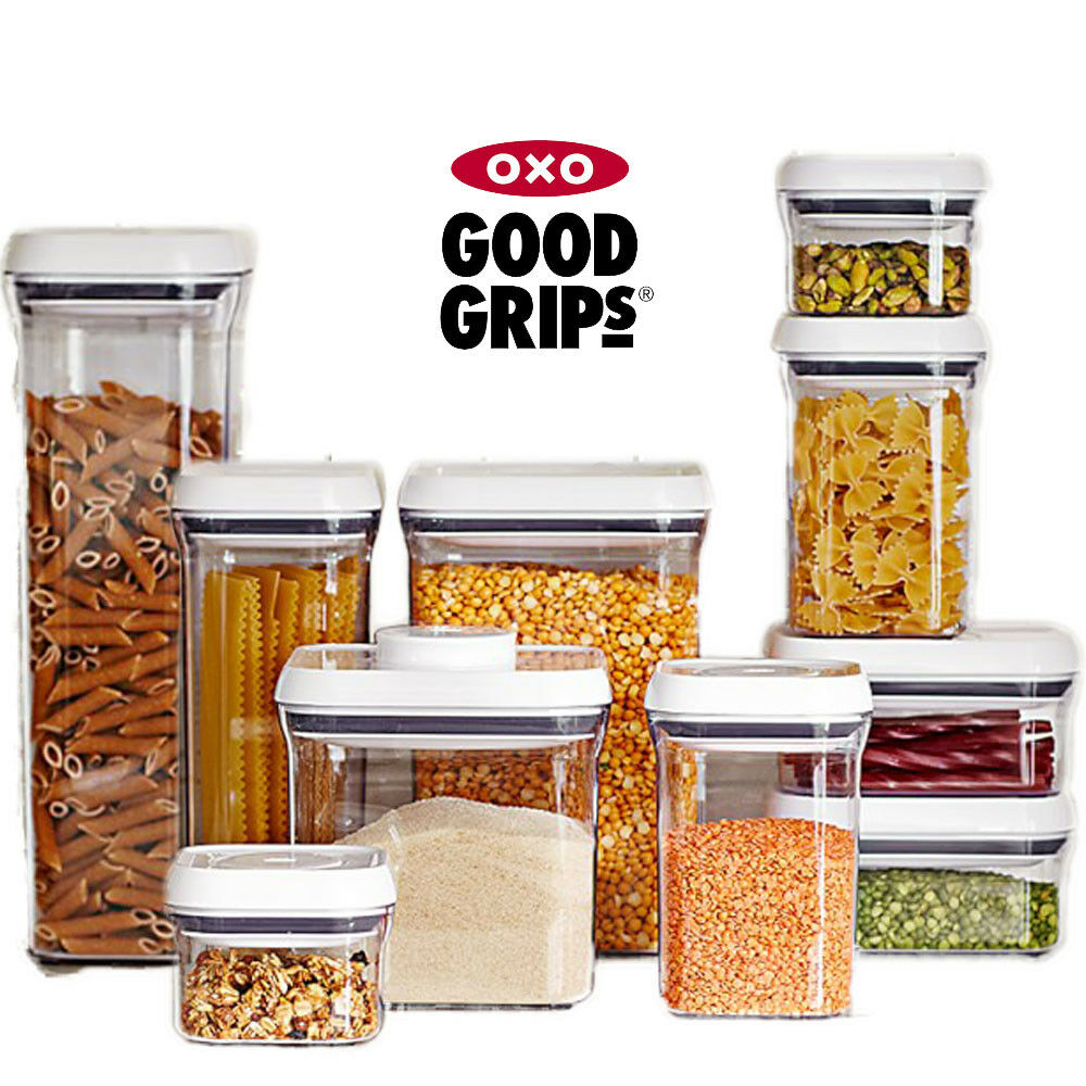 Oxo Good Grips Multi Purpose Storage Container Box Kitchen Food Pop