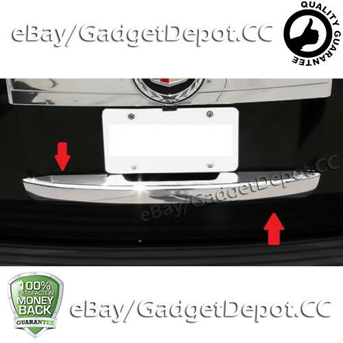 Used Cadillac Escalade Parts For Sale: For 2007-2012 2013 Cadillac Escalade ESV Chrome Lower Tailgate Cover NonFIT EXT