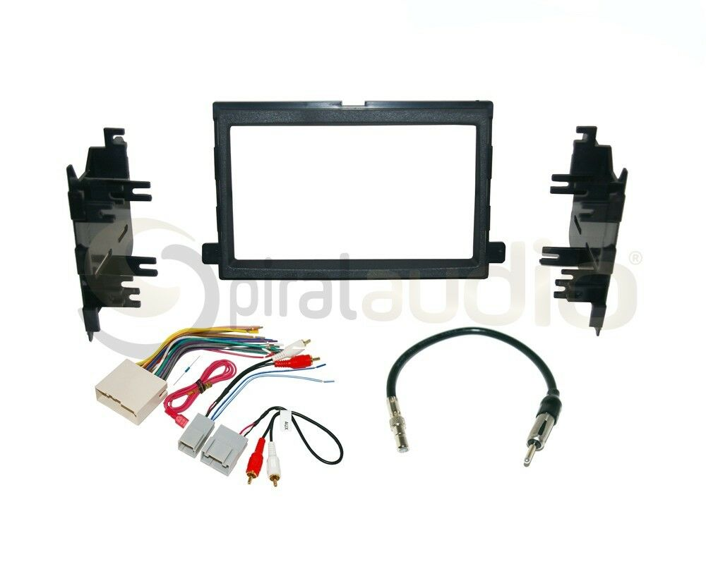 radio stereo installation dash kit combo dd + wire harness ... 2007 ford mustang stereo wiring diagram 2007 ford mustang dash wiring harness #12