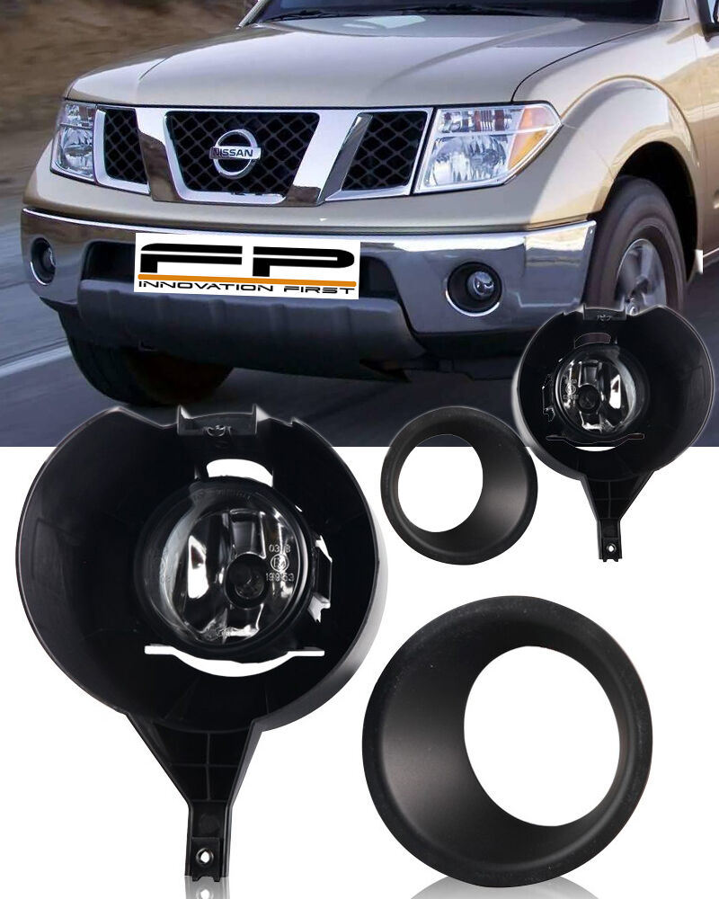 frontier nissan fog lights bumper 2005 chrome only kit metal driving light accessories parts engine replacement truck led lamp lighting