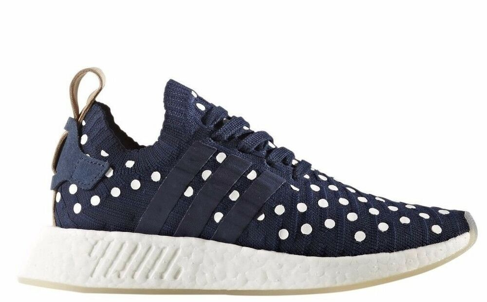 detailed pictures 85168 e9735 Details about BA7560 Womens Adidas Originals NMD R2 Primeknit Sneaker -  Navy White