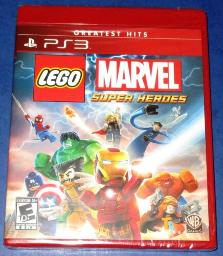 LEGO Marvel Super Heroes Sony PlayStation 3 *Factory Sealed! *Free Shipping!