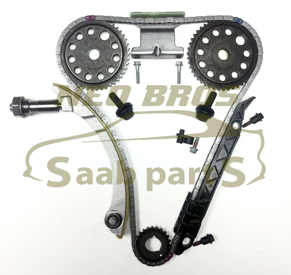 Genuine Timing Chain Kit For Saab 9 3 B207 Vauxhall Opel Z20net Ford 2006 5 4 Tensioners 20t Ebay
