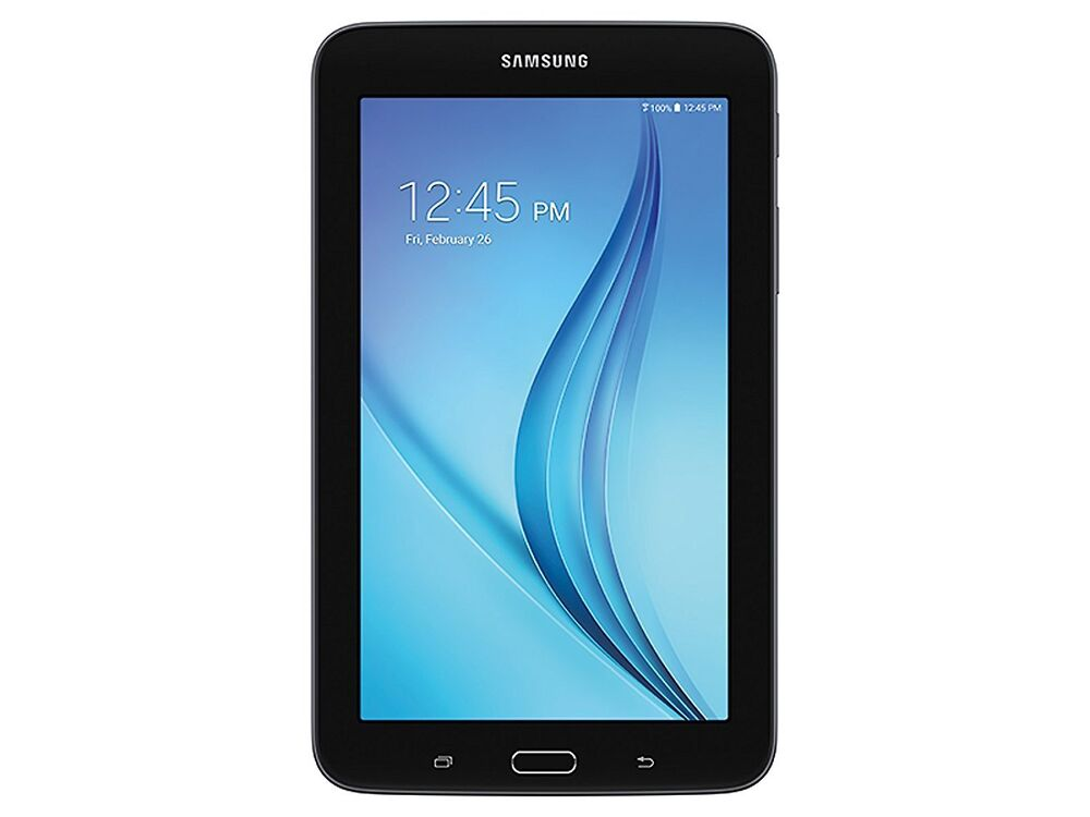 samsung galaxy tab 3 lite ve sm t113 7 8gb wifi 1 3ghz quadl core black tablet ebay. Black Bedroom Furniture Sets. Home Design Ideas