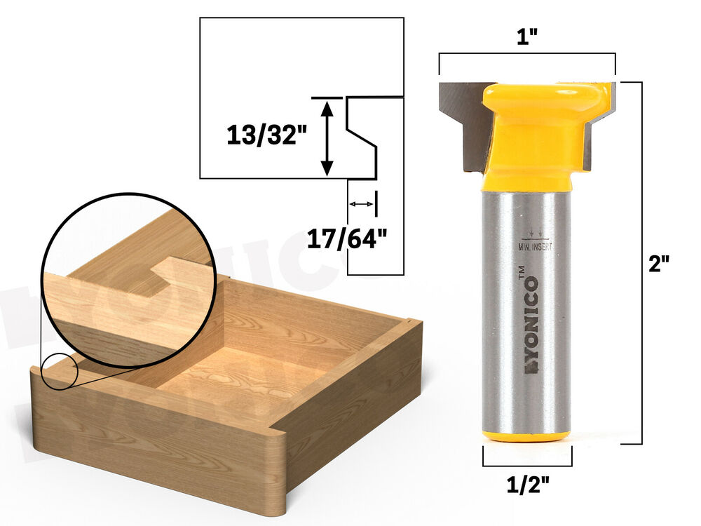 Reversible Drawer Front Router Bit 1 2 Quot Shank Yonico