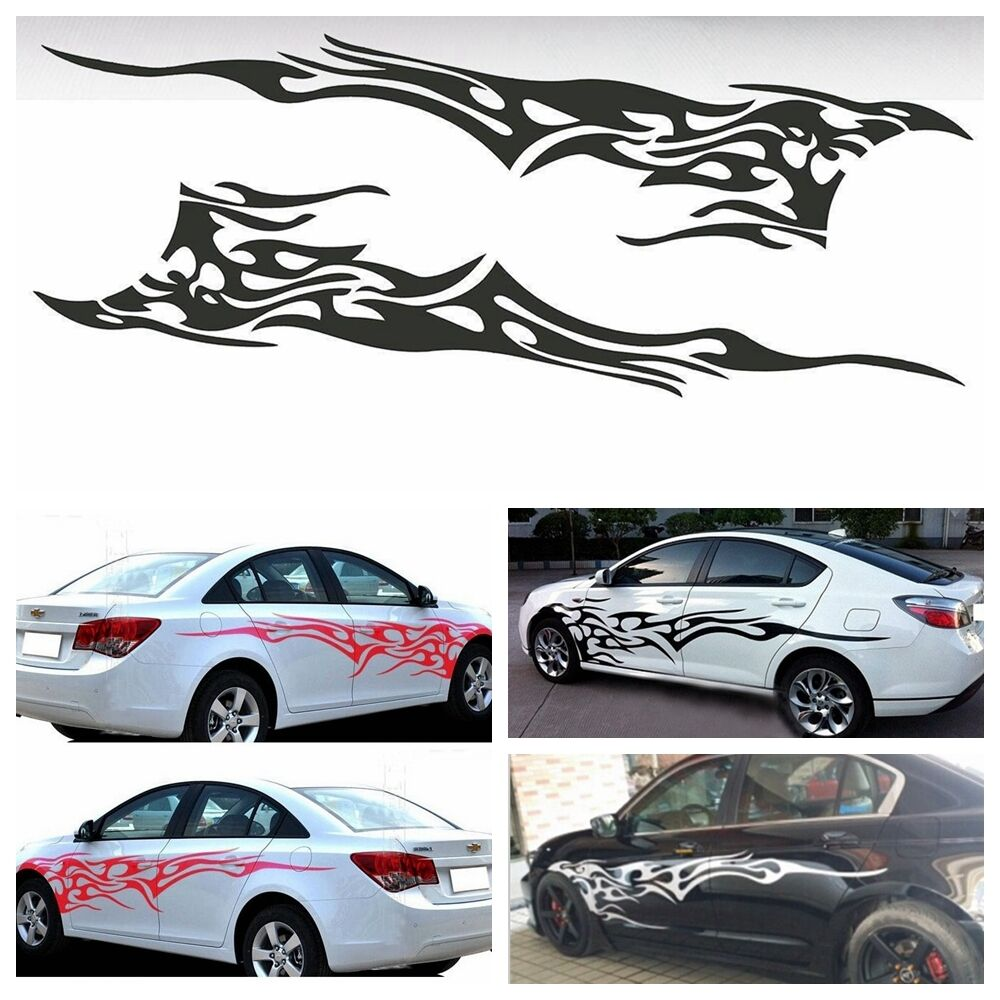 """83"""" x 19"""" Car Decal Vinyl Graphics Two Side Stickers Body ..."""