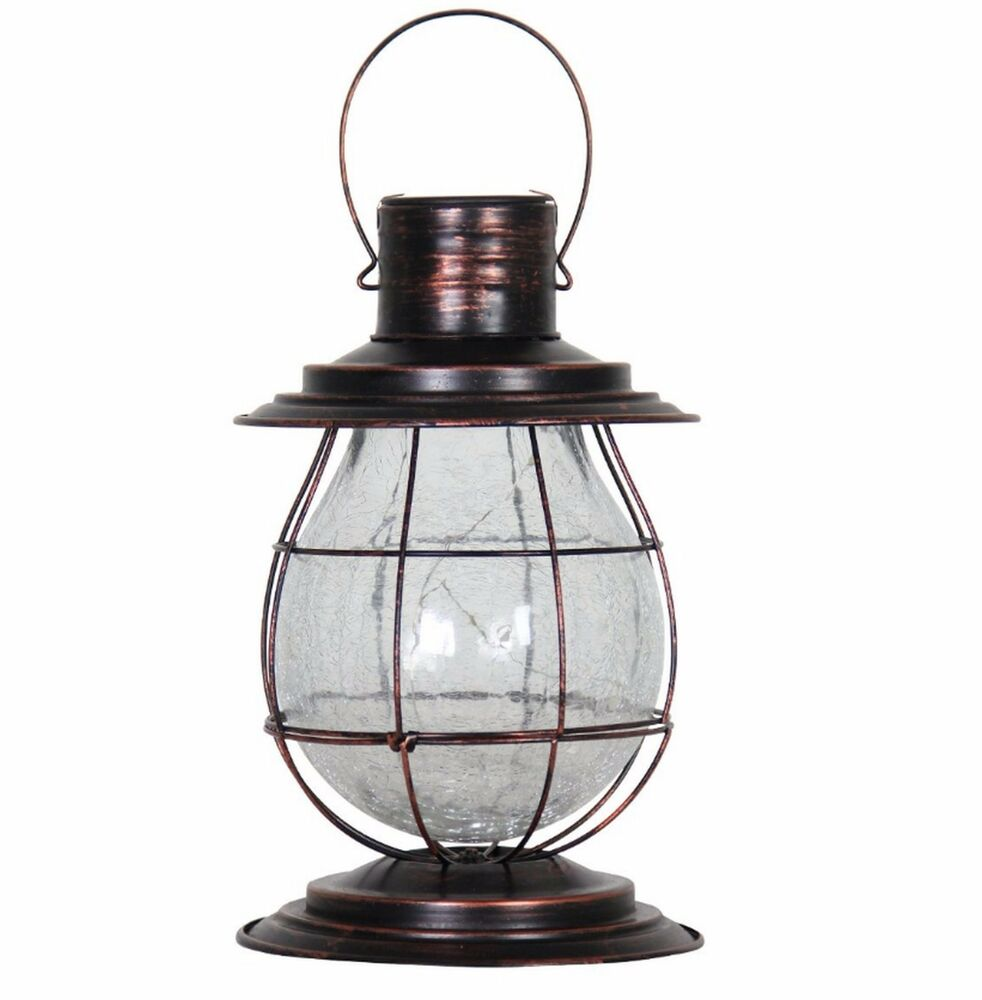 Solar Garden Light Lantern: Solar Lantern Garden Light Path Lighting Hanging Yard Lamp