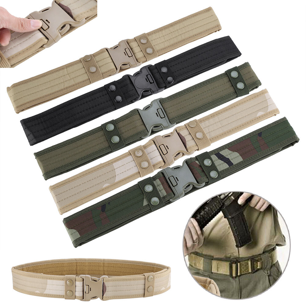 Tactics Army Hunting Hiking Soft Waist Band Utility Belt
