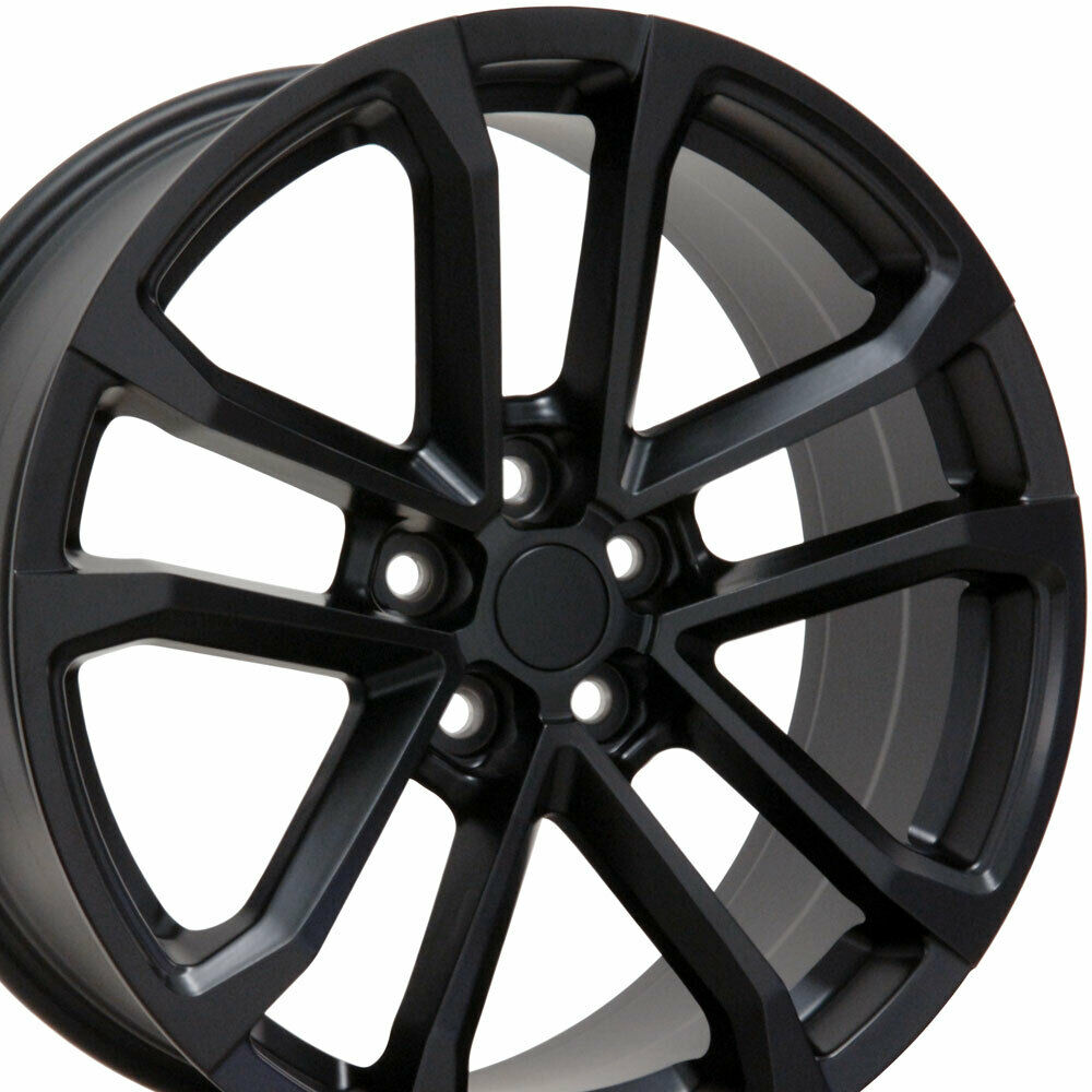 20x9 5 20x8 5 Rims Fit Camaro Zl1 Style Satin Black Wheels