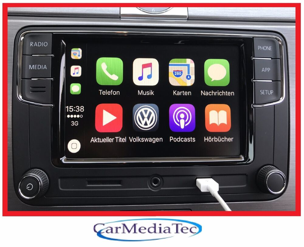 original vw radio freisprechanlage apple carplay. Black Bedroom Furniture Sets. Home Design Ideas