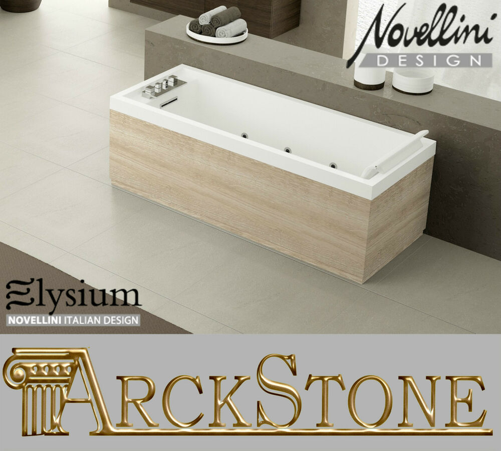 arckstone badewanne badezimmer hydro radio farbtherapie novellini sense 4 plus ebay. Black Bedroom Furniture Sets. Home Design Ideas