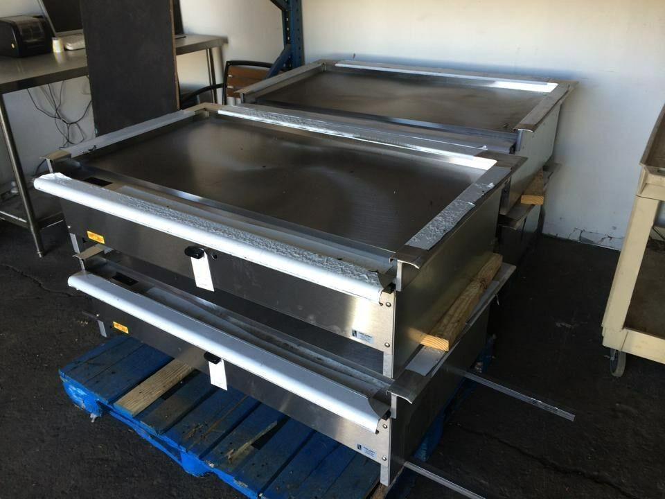 48 teppanyaki grill hibachi grill nat or lp gas equipped with s s trim ebay