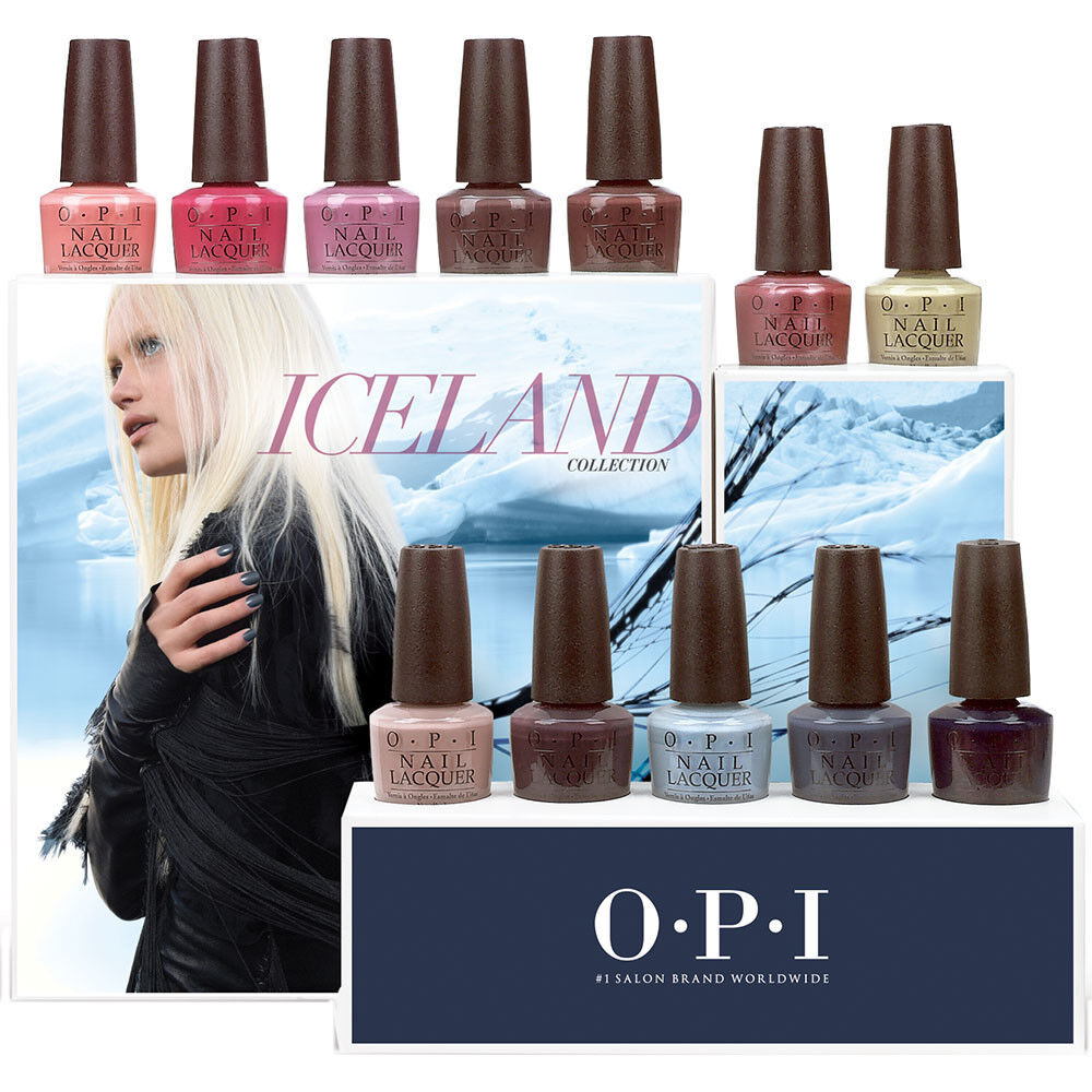 Opi Iceland Fall Winter 2017 Collection New