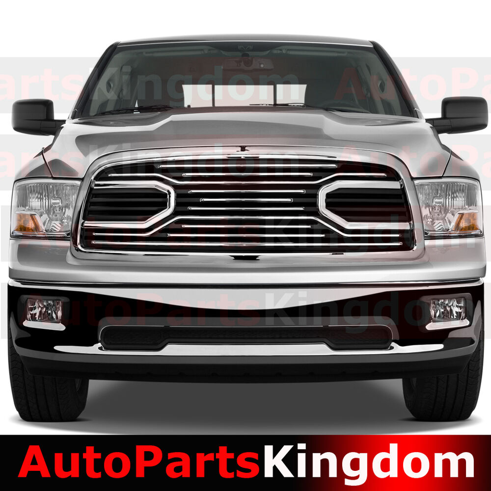 1500 Dodge Ram Accessories: 09-12 Dodge RAM 1500 Big Horn Chrome Packaged Grille