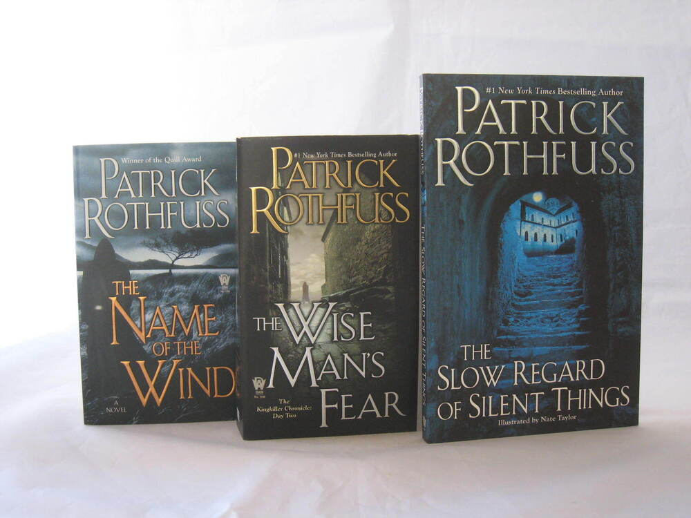 The Kingkiller Chronicle 1 3 Books By Patrick Rothfuss Mass