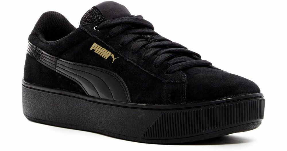 36328701 Casual Vicky WomenEbay Puma Black Platform Leather uTlK1cJ3F