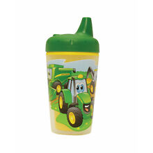 Tomy #TBEK9698A John Deere 9oz Insulated Sippy Cup w/ 1-Piece Lid