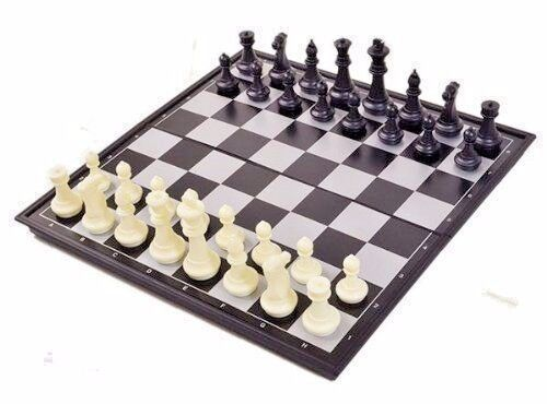 NEW large Magnetic Folding Chess Board Game Set/High ...