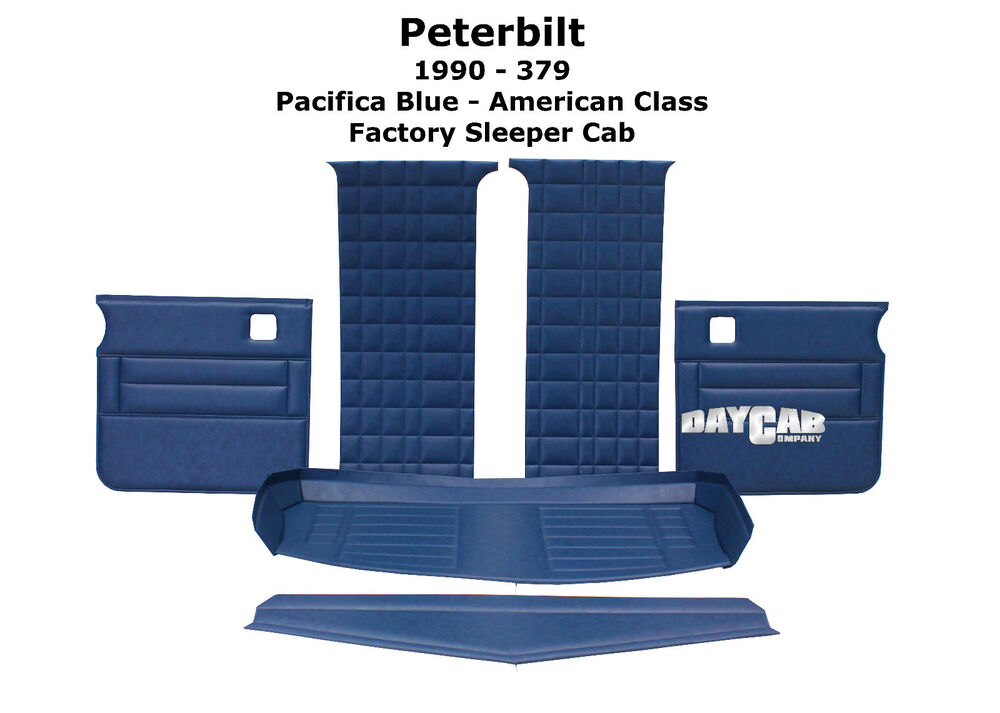 Peterbilt 1990 379 pre unibilt factory sleeper cab - Peterbilt 379 interior accessories ...
