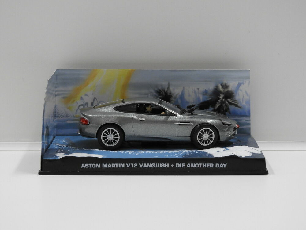 Aston Martin V Vanquish James Bond Die Another Day - Aston martin v12 vanquish