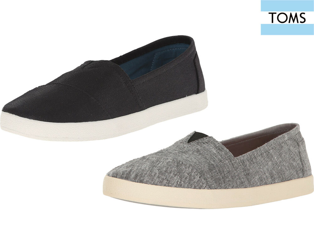 f4957042246 Details about Toms Womens Shoes Avalon Slip On Flats Casual Sneakers NEW